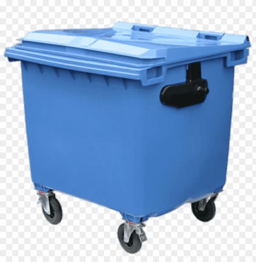 free PNG Download Bin Wheelie Large Blue png images background PNG images transparent