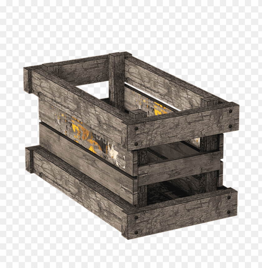 Download Box Wooden Crate png images background@toppng.com