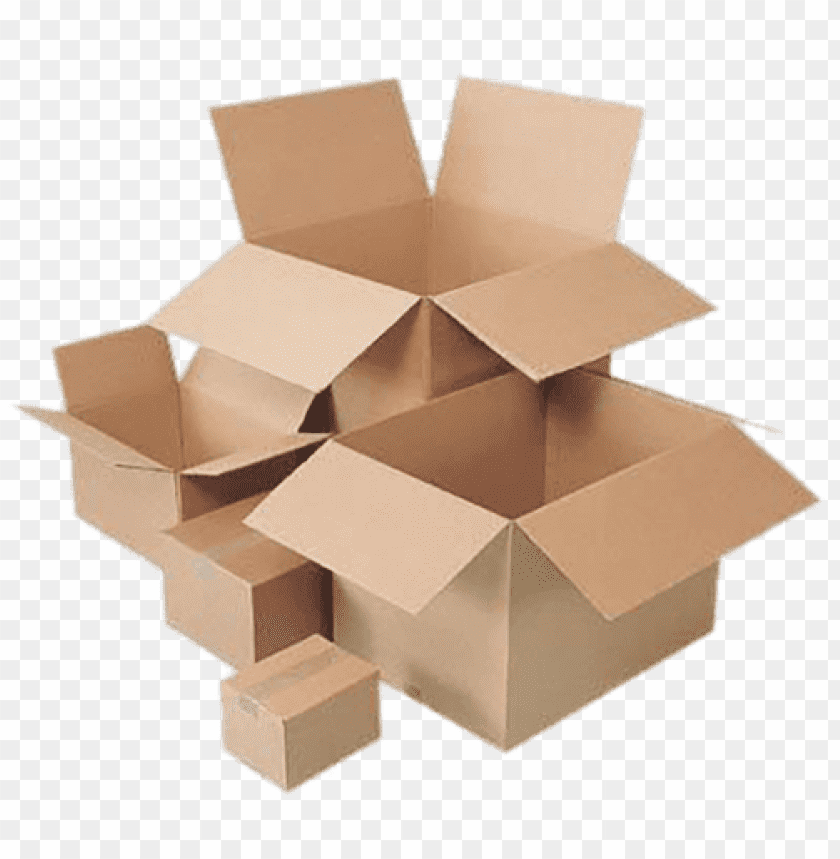 free PNG Download Cardboard Boxes Sizes png images background PNG images transparent