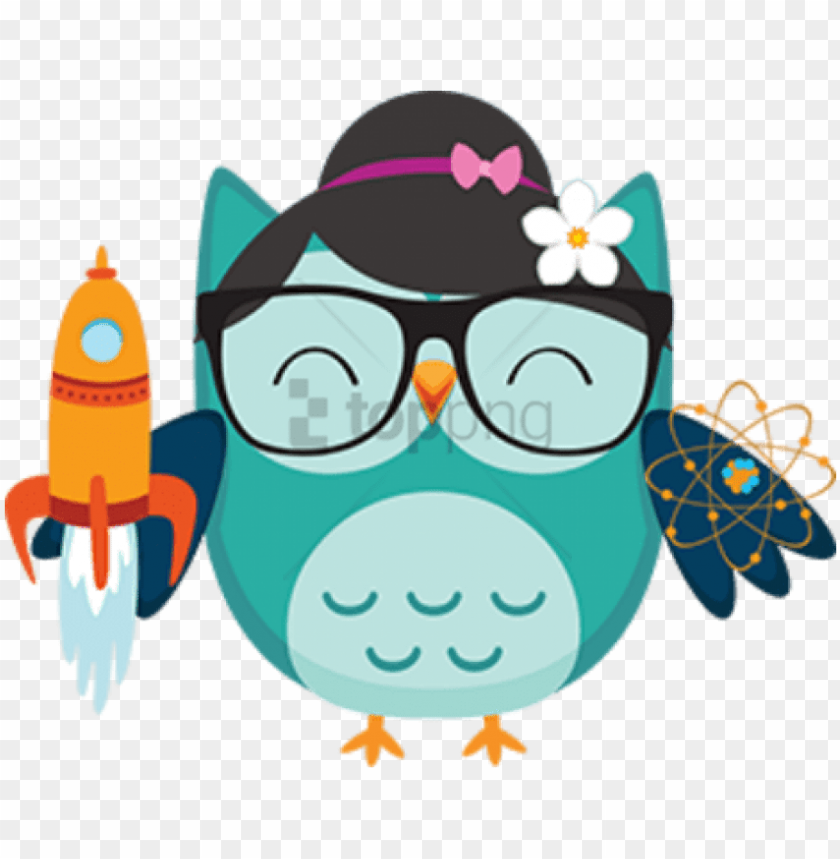 Free Png Cartoon Owls With Big Eyes Png Image With Coruja Verde