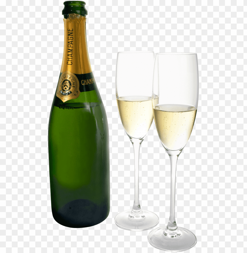 free PNG Download Champagne Two Glasses Bottle png images background PNG images transparent