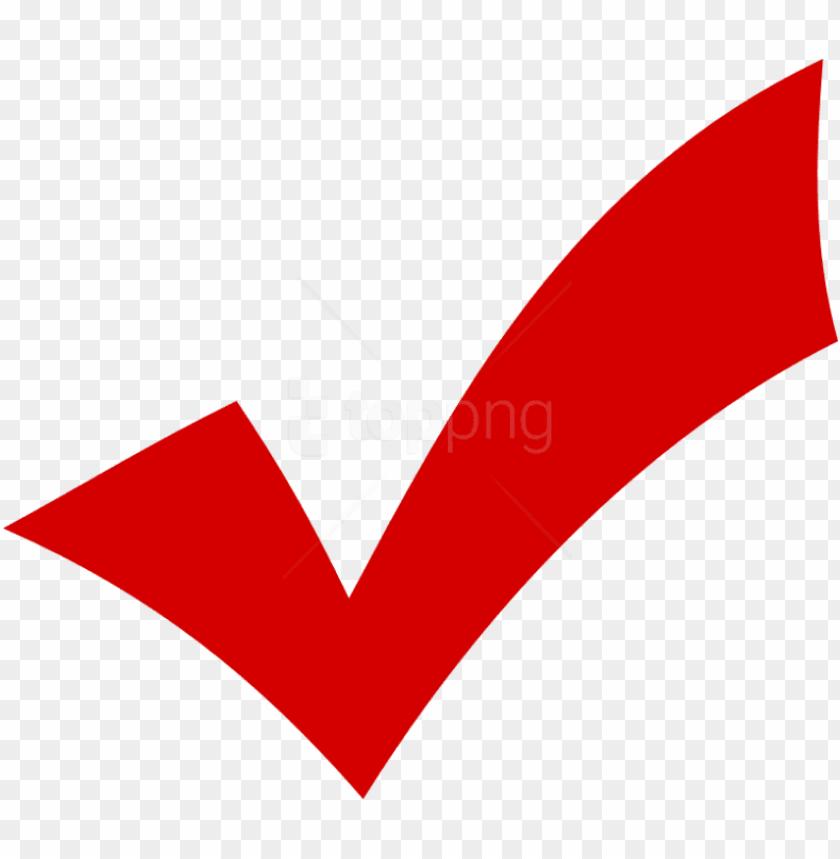 free PNG free png check mark png png image with transparent - red check png transparent PNG image with transparent background PNG images transparent