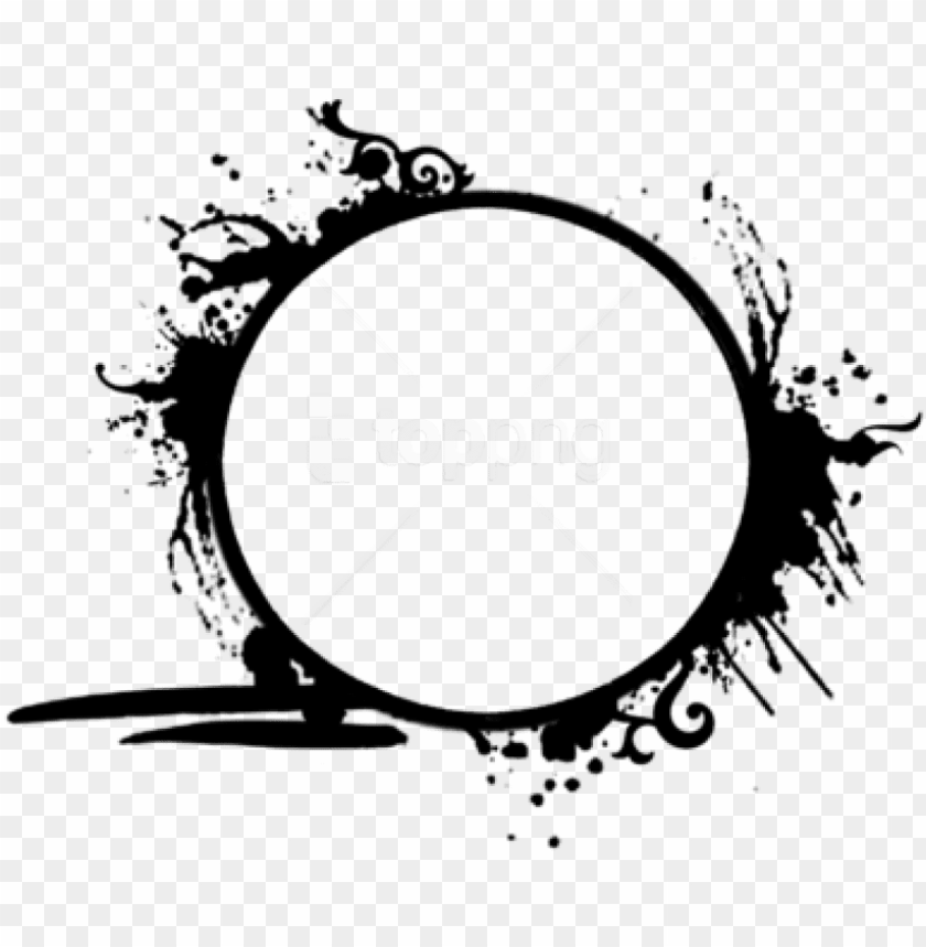 free PNG free png circle frame png - grunge circle frame PNG image with transparent background PNG images transparent