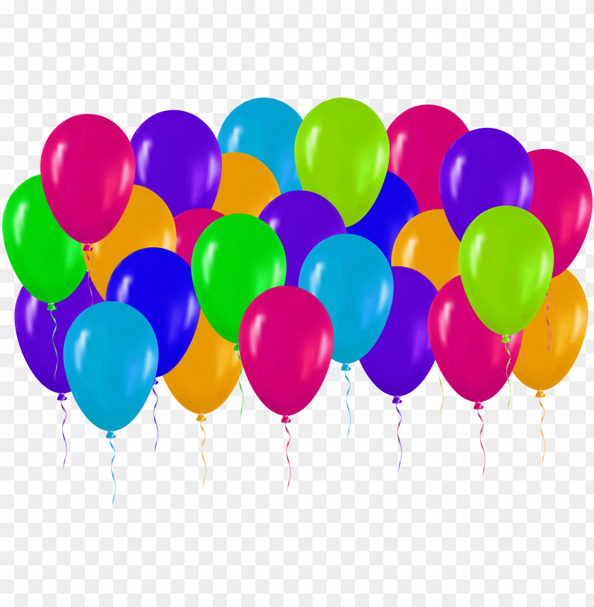 free PNG free png colorful balloons png images transparent - balloons happy birthday PNG image with transparent background PNG images transparent
