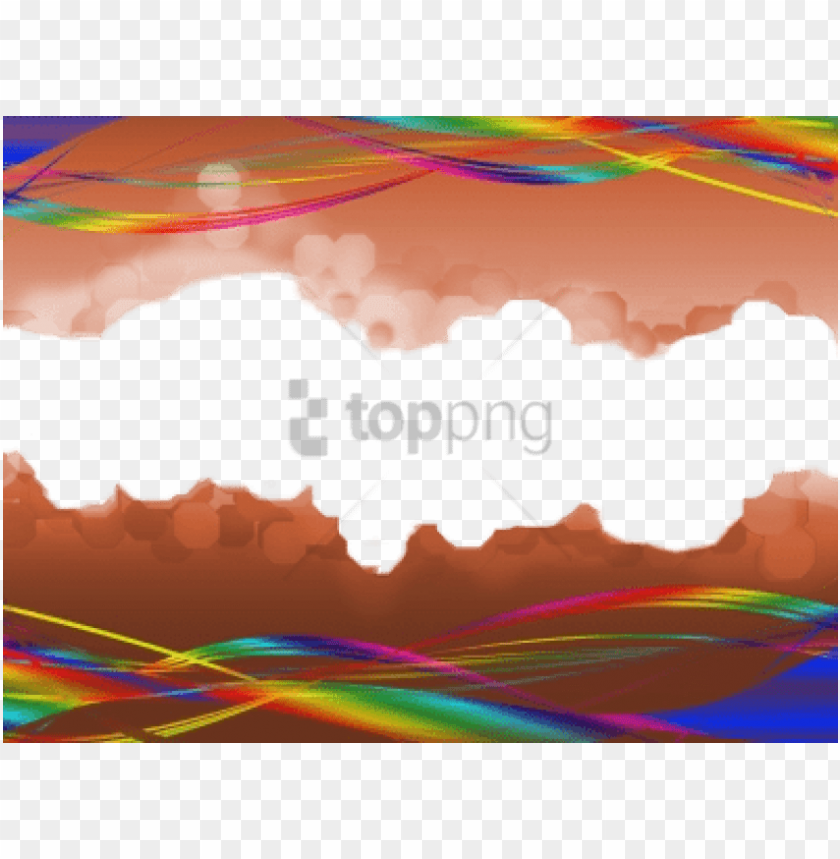 free PNG free png colorful border abstract transparent png image - colorful border abstract transparent PNG image with transparent background PNG images transparent
