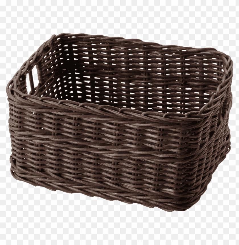 free PNG Download Dark Brown Ikea Basket png images background PNG images transparent