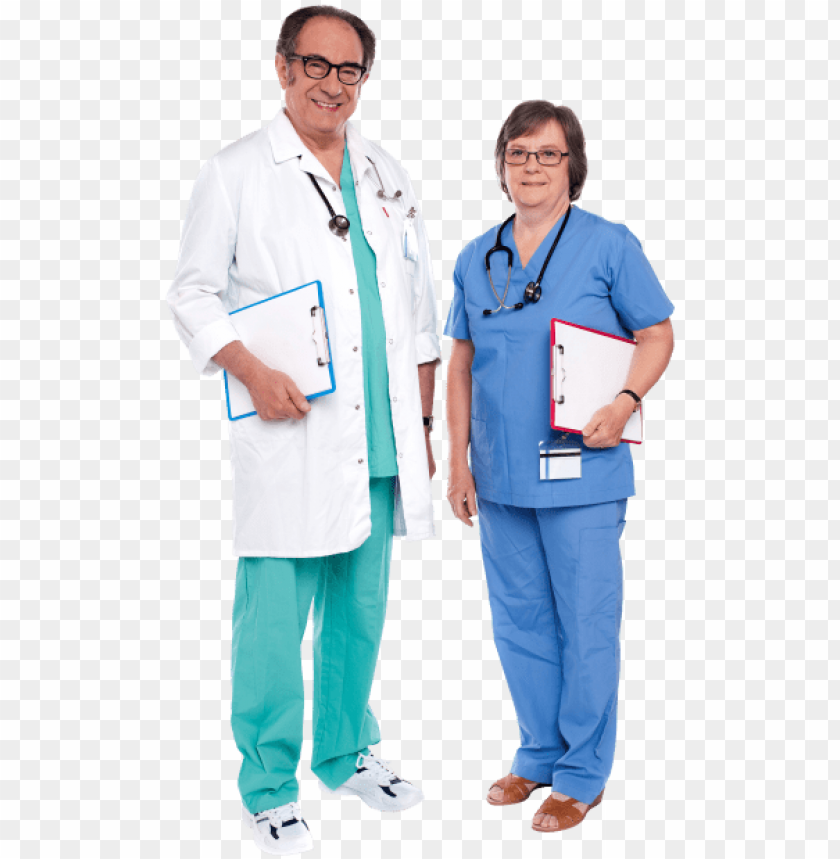 free PNG free png doctor png images transparent - male doctor female nurse PNG image with transparent background PNG images transparent