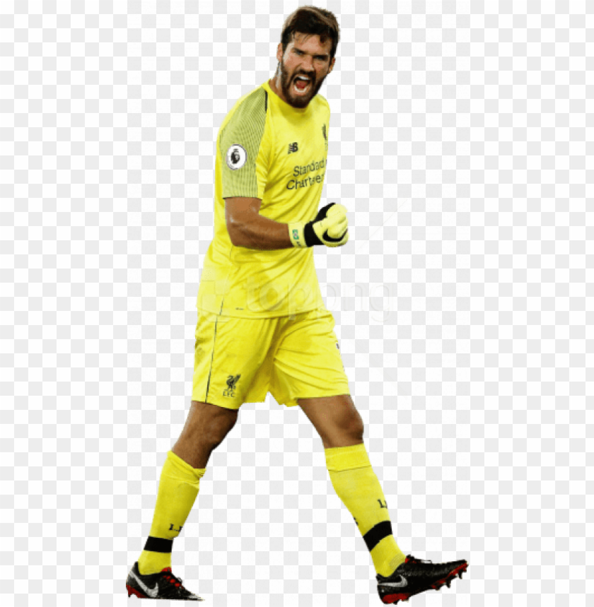 free PNG free png download alisson becker png images background - alisson becker liverpool PNG image with transparent background PNG images transparent