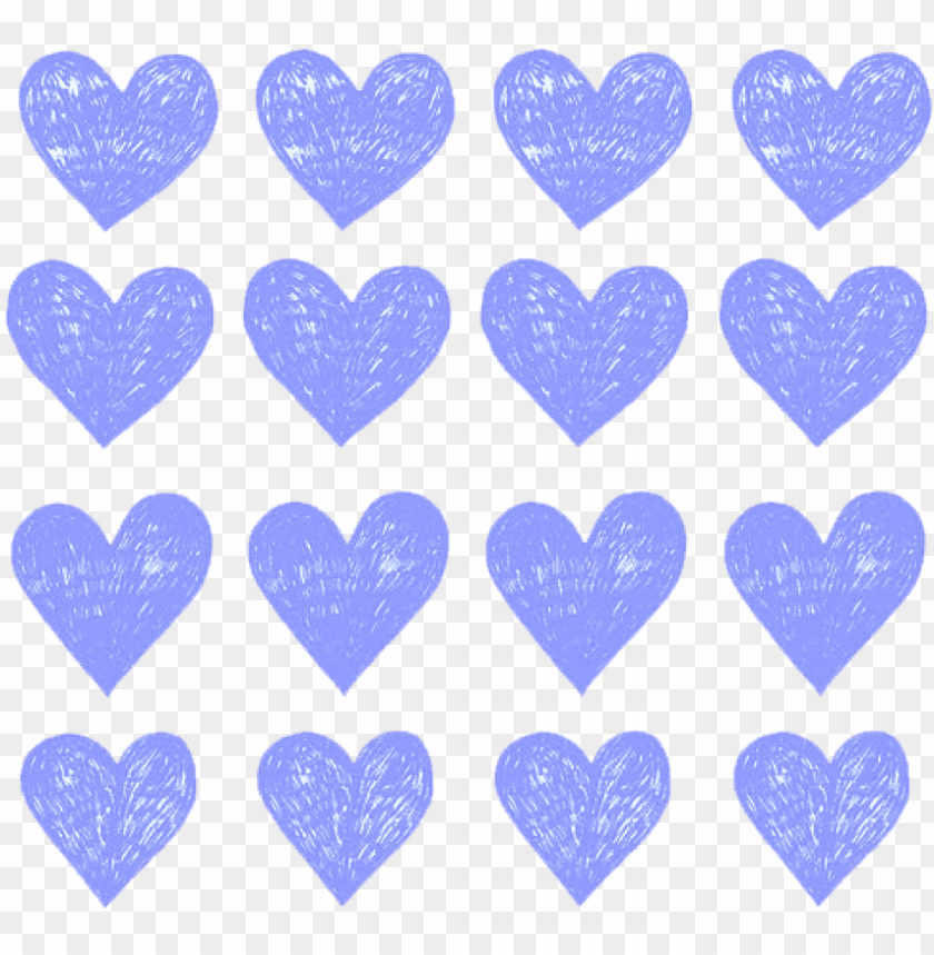 free PNG free png download aqua hearts png images background - periwinkle hearts PNG image with transparent background PNG images transparent