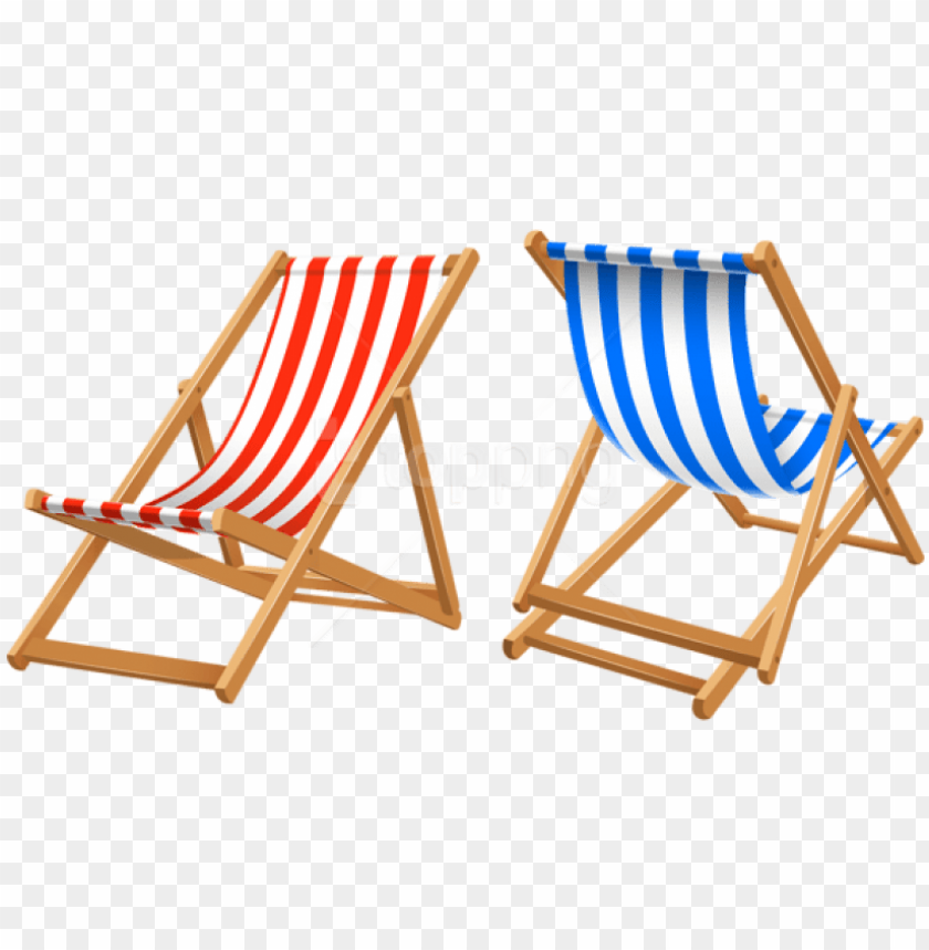 free PNG free png download beach chairs clipart png photo png - beach chair PNG image with transparent background PNG images transparent