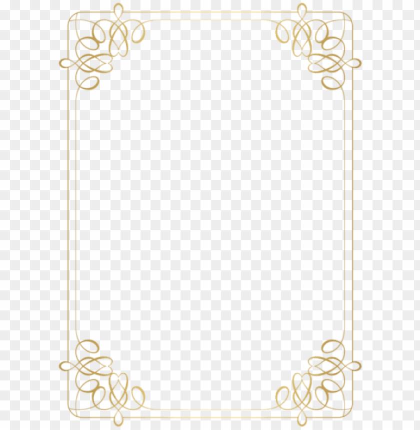 free PNG free png download border frame gold clipart png photo - png clipart gold frame PNG image with transparent background PNG images transparent