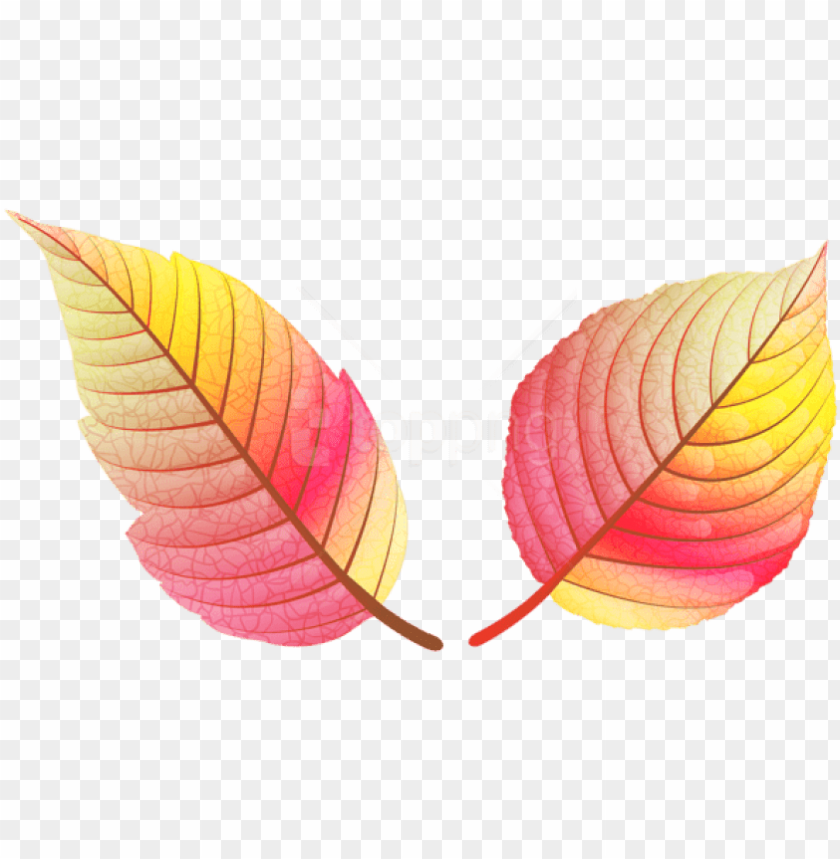 free PNG free png download colorful fall leaves clipart png - colored fall leaves PNG image with transparent background PNG images transparent