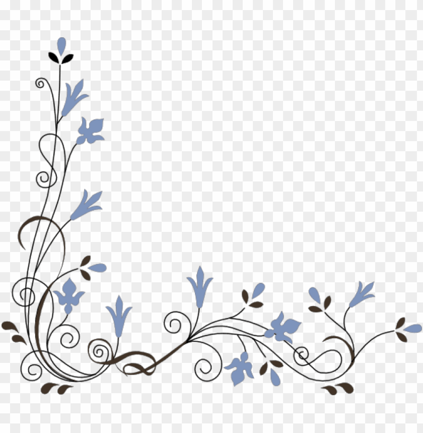 free png download colorful floral corner borders png corner flower vector png image with transparent background toppng corner flower vector png image with