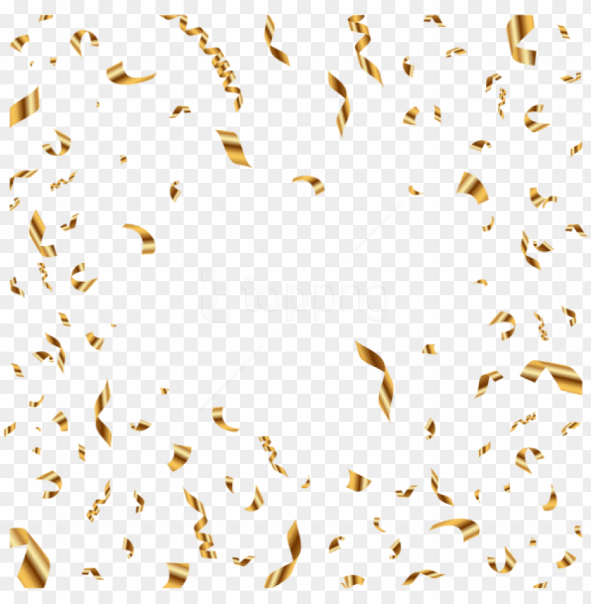 free PNG free png download confetti gold transparent png images - transparent background confetti PNG image with transparent background PNG images transparent