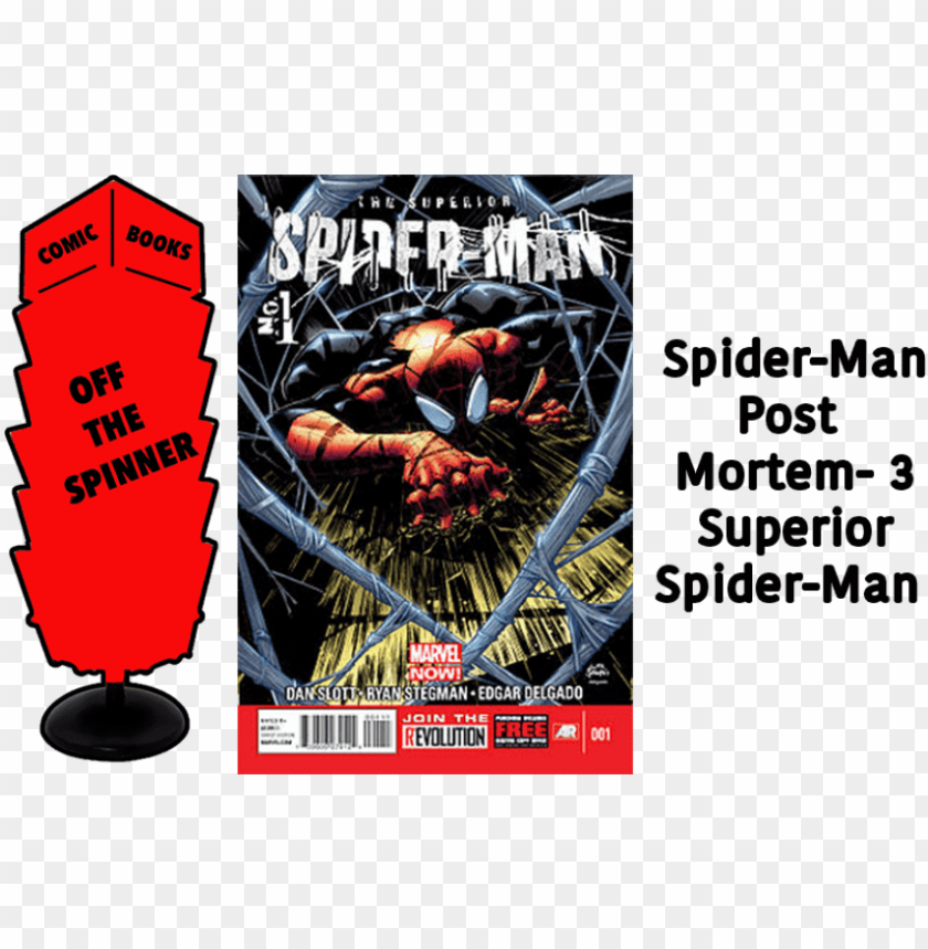 free PNG free png download courtesy marvel comics png images - ryan stegman superior spiderma PNG image with transparent background PNG images transparent