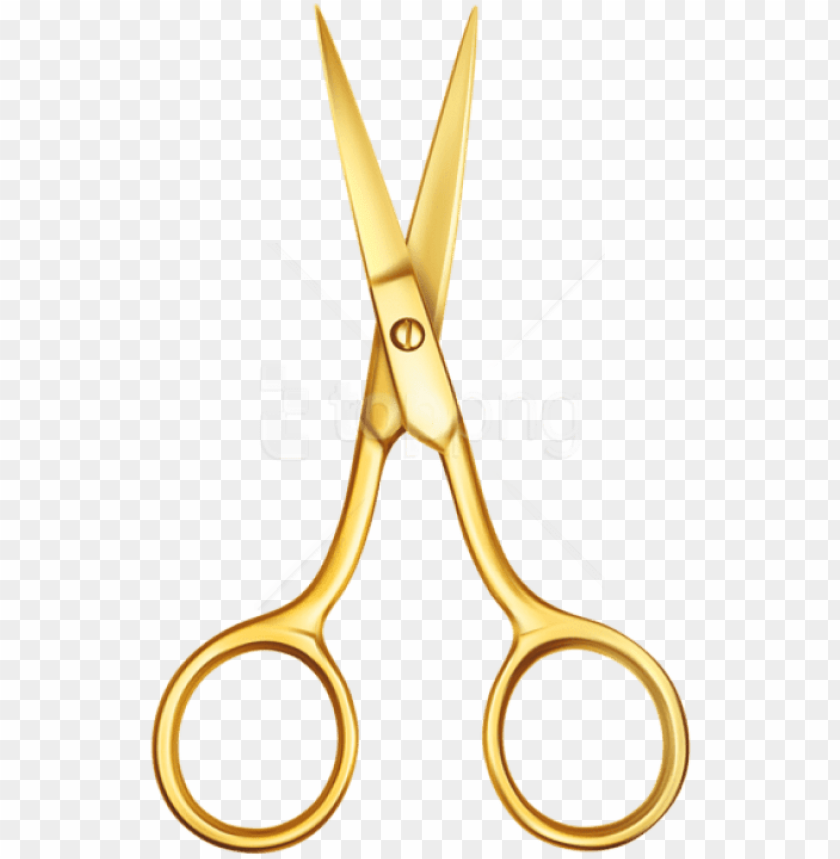 free PNG free png download gold scissors clipart png photo png - hair scissors gold clipart PNG image with transparent background PNG images transparent