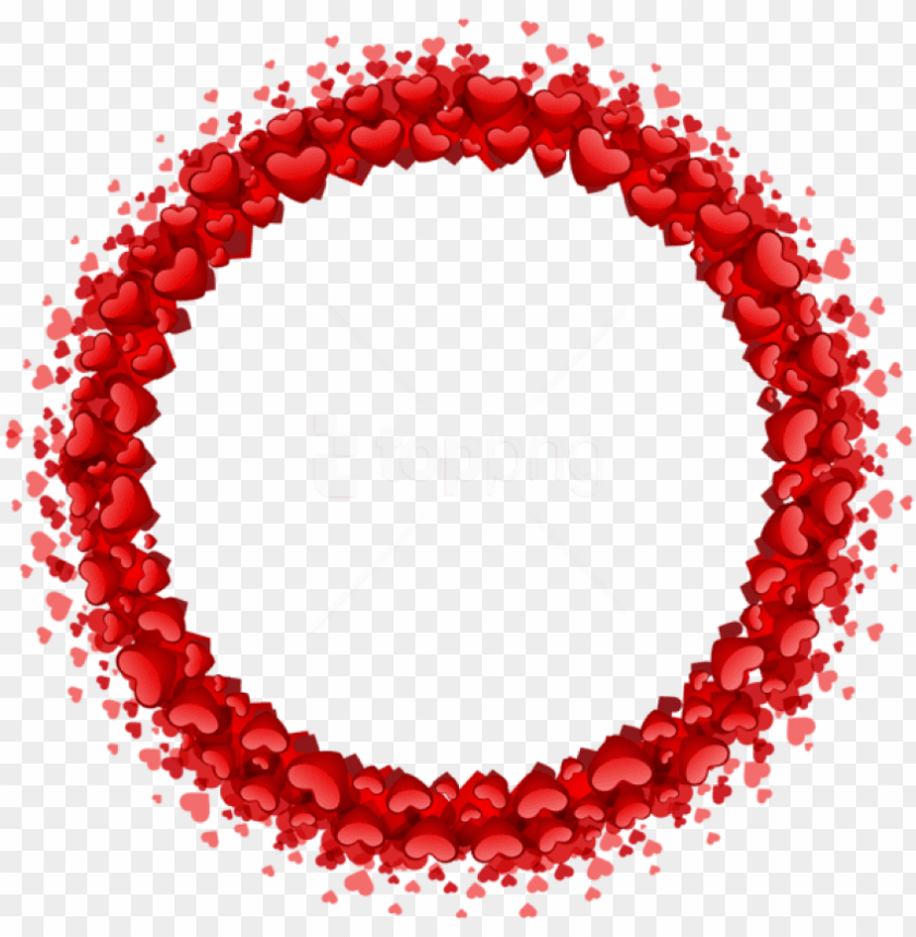 free PNG free png download heart round border png images background - free round heart border PNG image with transparent background PNG images transparent