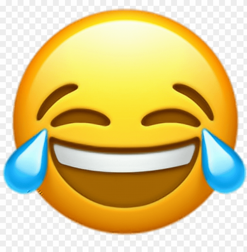 free PNG free png download ios 10 crying laughing emoji png - ios 10 crying laughing emoji PNG image with transparent background PNG images transparent