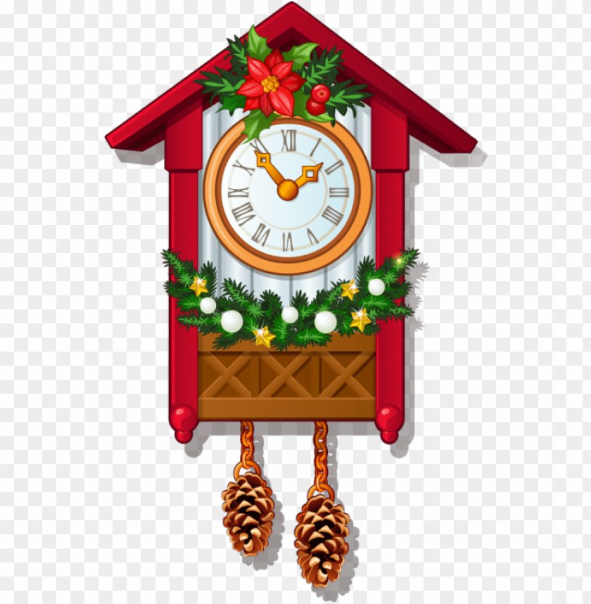 free PNG free png download nutcracker cuckoo clock png images - christmas cuckoo clock clipart PNG image with transparent background PNG images transparent