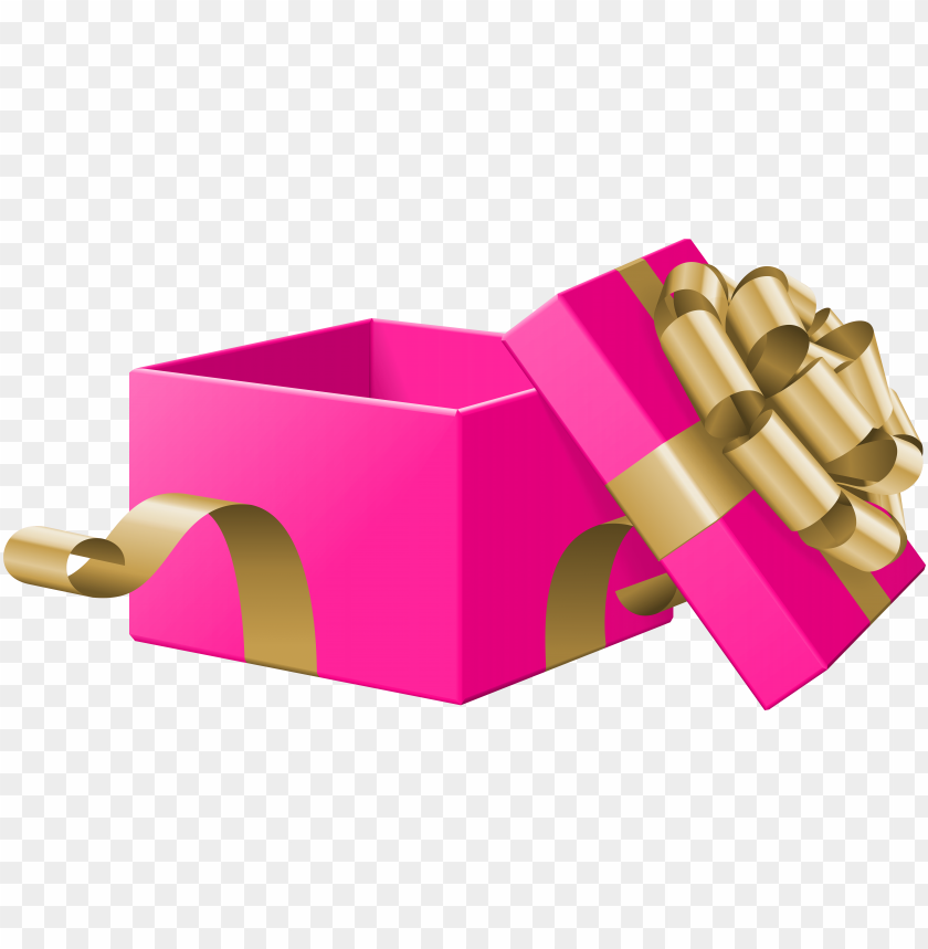 free PNG free png download open gift box pink transparent clipart - png open gift box clipart PNG image with transparent background PNG images transparent
