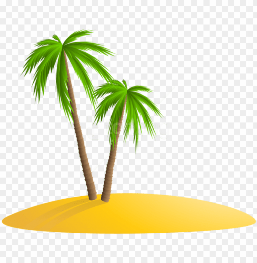 free PNG free png download palm island png images background - island with palm tree PNG image with transparent background PNG images transparent