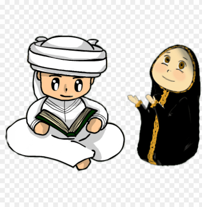 free PNG free png download person islamic clipart png images - سكرابز رمضان PNG image with transparent background PNG images transparent