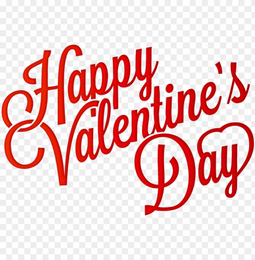 free PNG free png download red happy valentine's day png clip-art - happy valentine day PNG image with transparent background PNG images transparent
