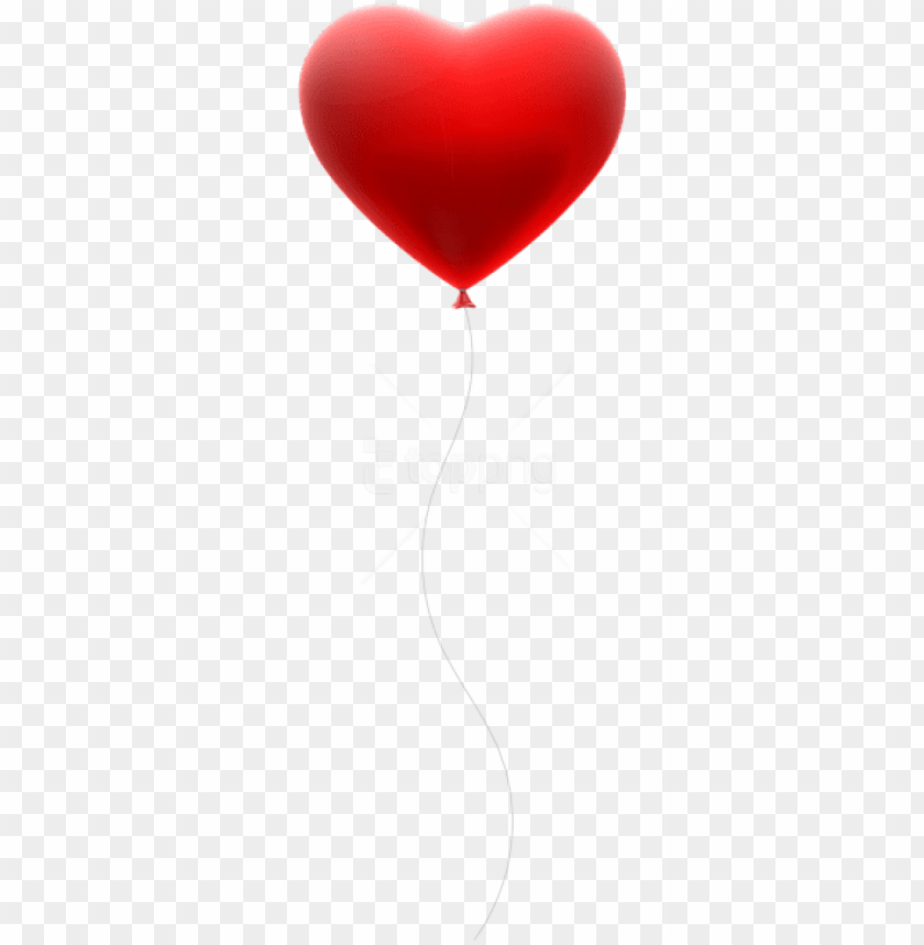 free PNG free png download red heart balloon transparent png - free clipart red heart balloo PNG image with transparent background PNG images transparent