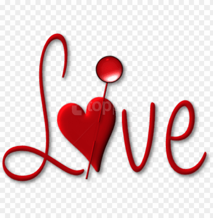 free PNG free png download red love with heart png images background - png format love png text PNG image with transparent background PNG images transparent