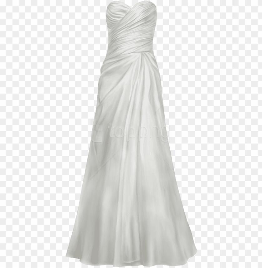 free PNG free png download satin wedding dress clipart png photo - wedding dress clipart transparent PNG image with transparent background PNG images transparent