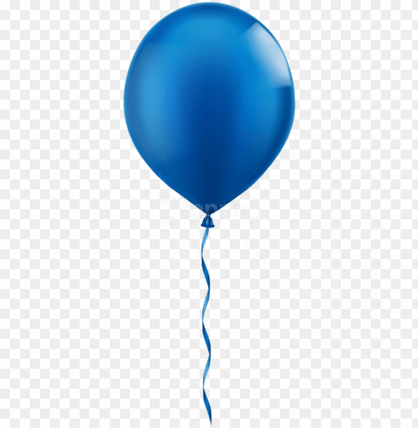 free PNG free png download single blue balloon png images background - blue balloon clip art PNG image with transparent background PNG images transparent