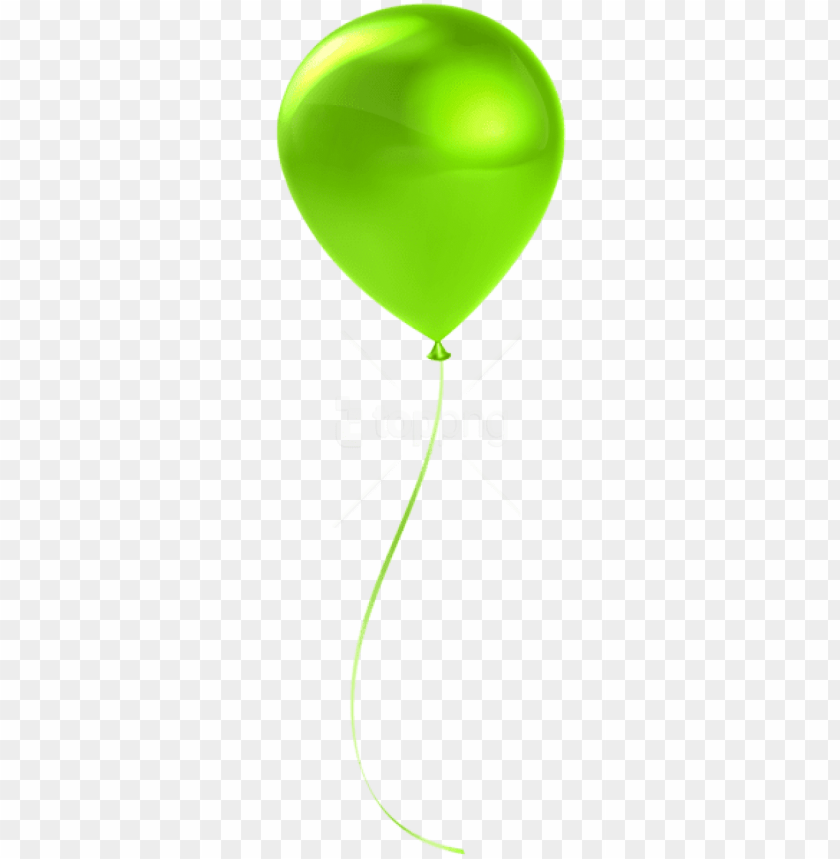 free PNG free png download single lime balloon transparent png - transparent background green balloon PNG image with transparent background PNG images transparent