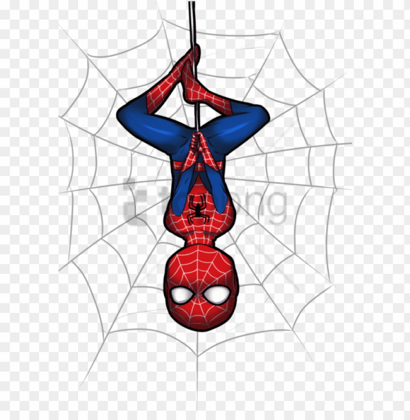 free PNG free png download spiderman spider web png images background - spider man cute PNG image with transparent background PNG images transparent