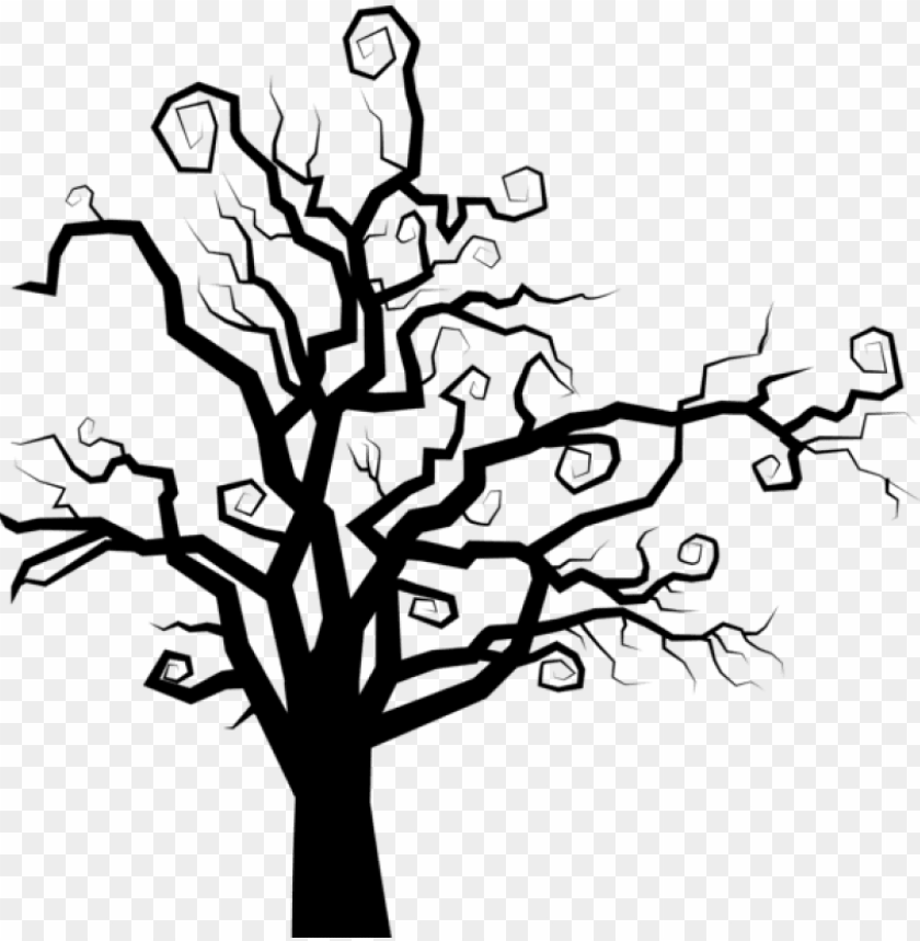 free PNG free png download spooky tree silhouette png images - spooky tree silhouette PNG image with transparent background PNG images transparent