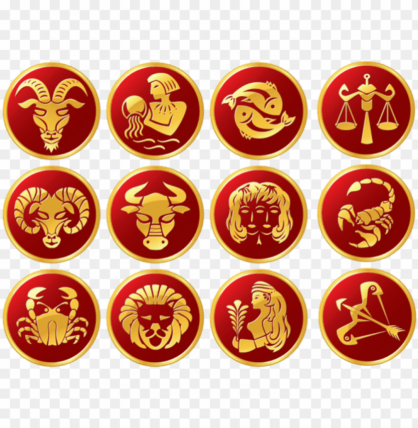 free PNG free png download zodiac signs set clipart png photo - 12 zodiac signs PNG image with transparent background PNG images transparent