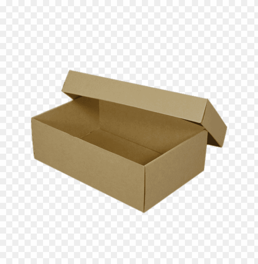 free PNG Download Empty Brown Shoebox png images background PNG images transparent