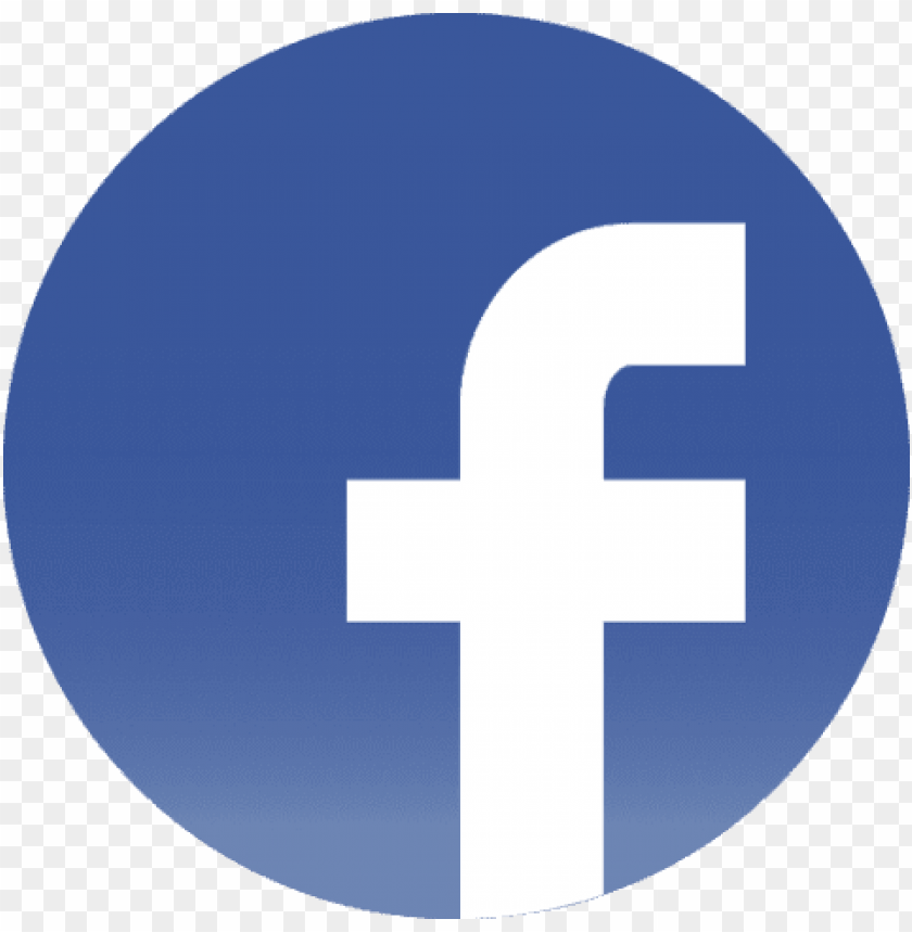 free PNG free png flat facebook logo png icon circle png images - facebook logo png round PNG image with transparent background PNG images transparent