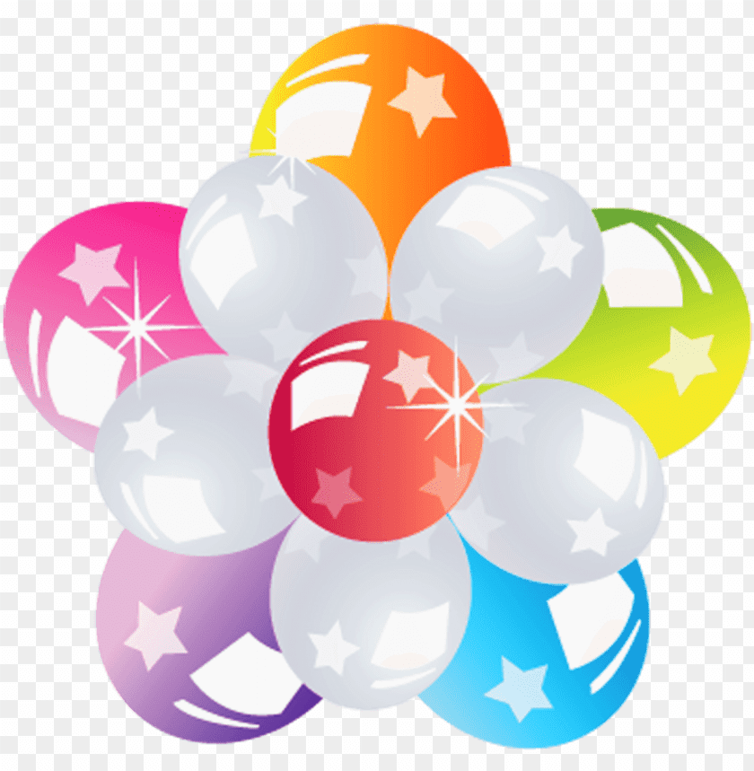 free PNG Download Flower Of Balloons png images background PNG images transparent