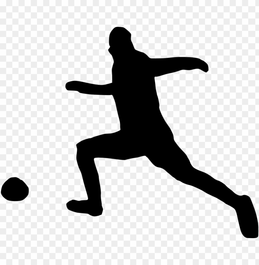 free PNG free png football player silhouette png images transparent - portable network graphics PNG image with transparent background PNG images transparent