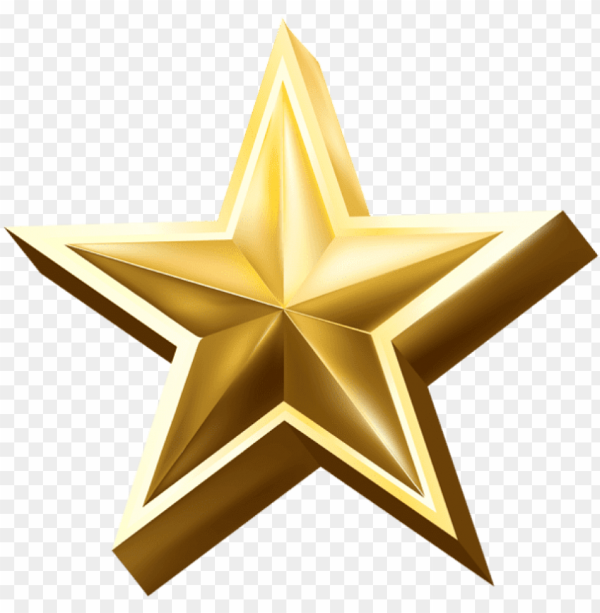 free PNG free png gold star png images transparent - gold star PNG image with transparent background PNG images transparent