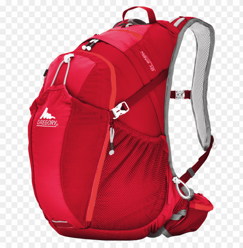 free PNG Download Gregory Red Backpack png images background PNG images transparent