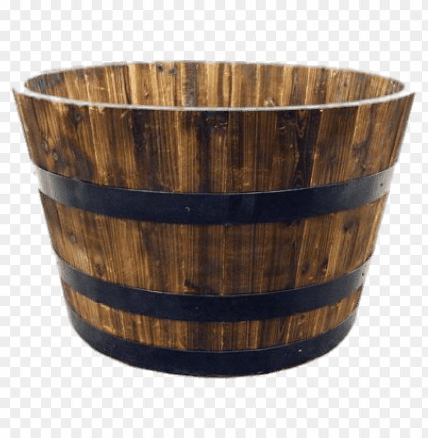 free PNG Download Half Whiskey Barrel png images background PNG images transparent