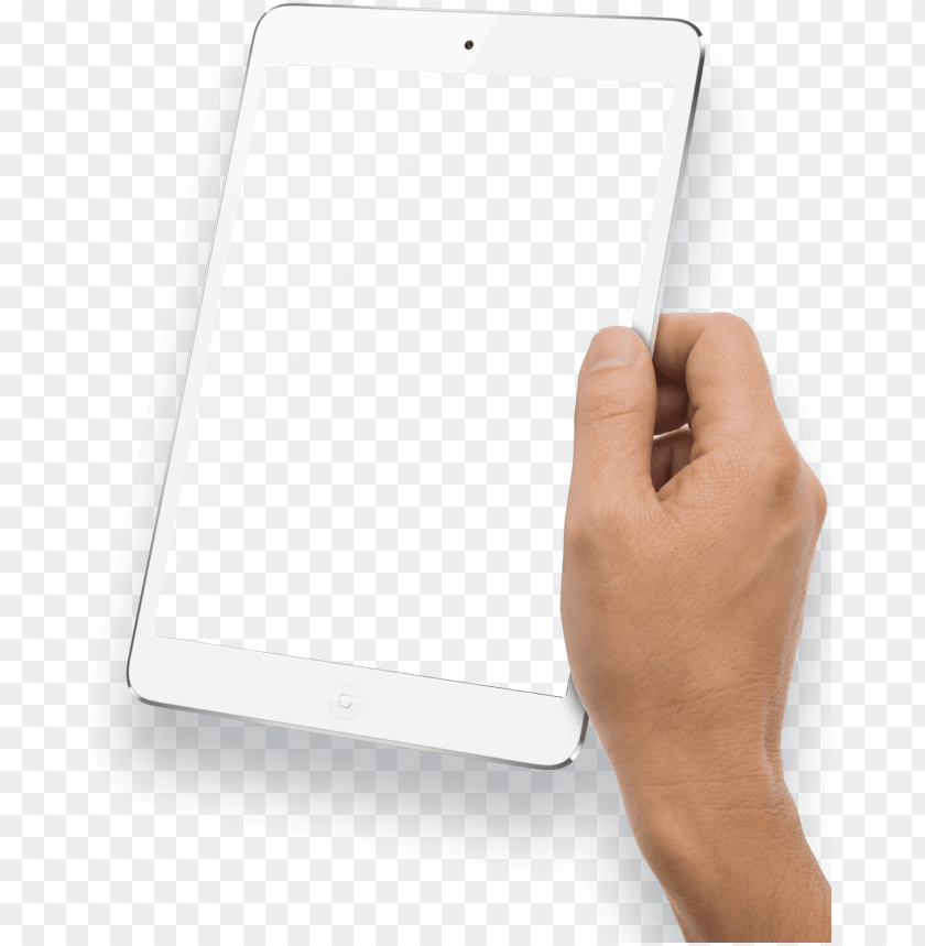 free PNG free png hand holding white tablet png images transparent - hand with tablet PNG image with transparent background PNG images transparent