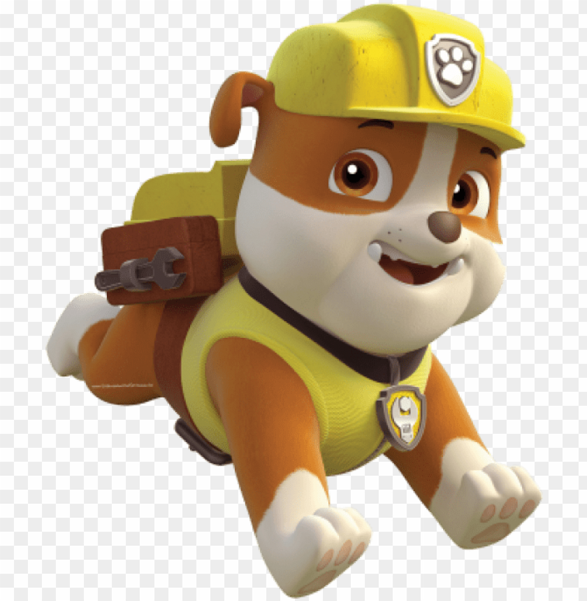 free PNG free png kit digital para festa patrulha canina png - rubble png paw patrol PNG image with transparent background PNG images transparent