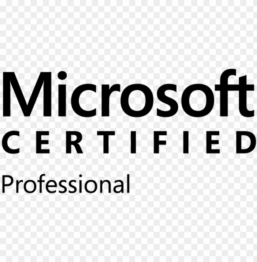 free PNG free png microsoft certified professional logo png - microsoft certified trainer PNG image with transparent background PNG images transparent