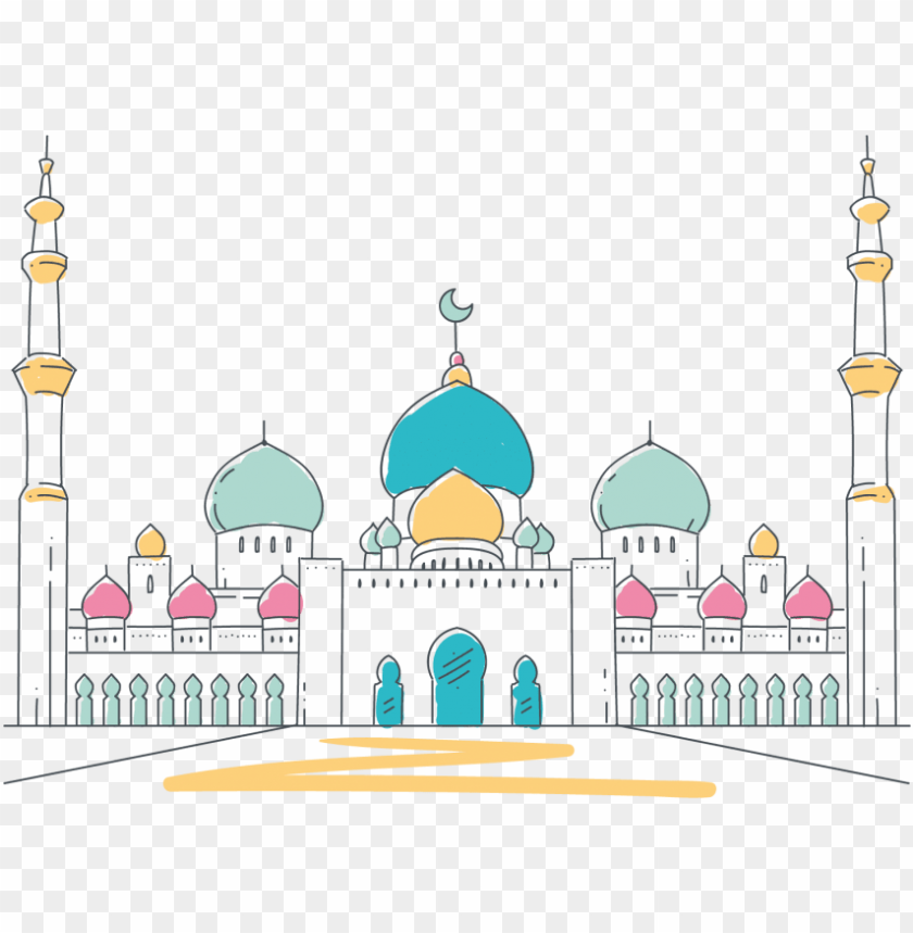 free PNG free png mosque vector png images transparent - transparent background mosque clipart PNG image with transparent background PNG images transparent