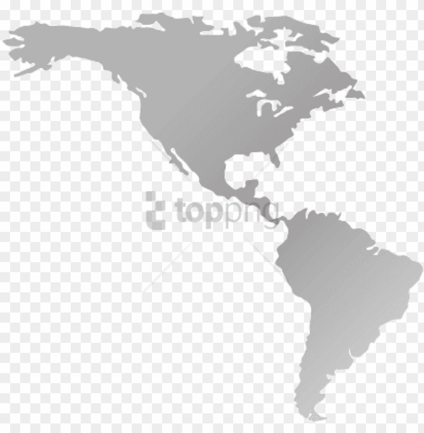 free PNG free png north america and south america png image - america continent map sv PNG image with transparent background PNG images transparent