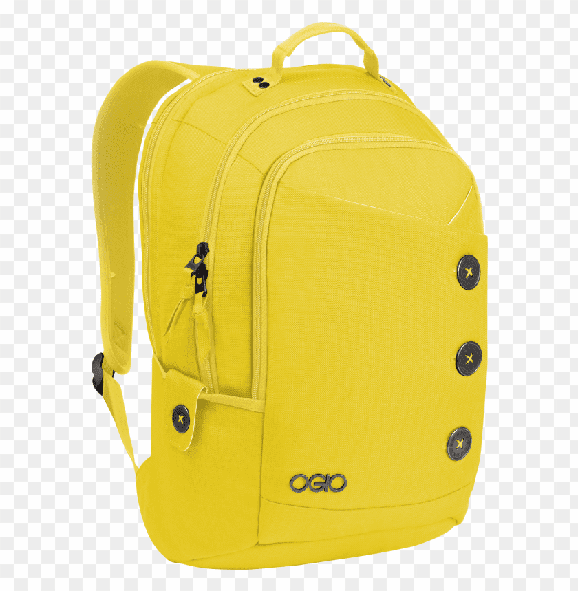 free PNG Download Ogio Yellow Backpack png images background PNG images transparent