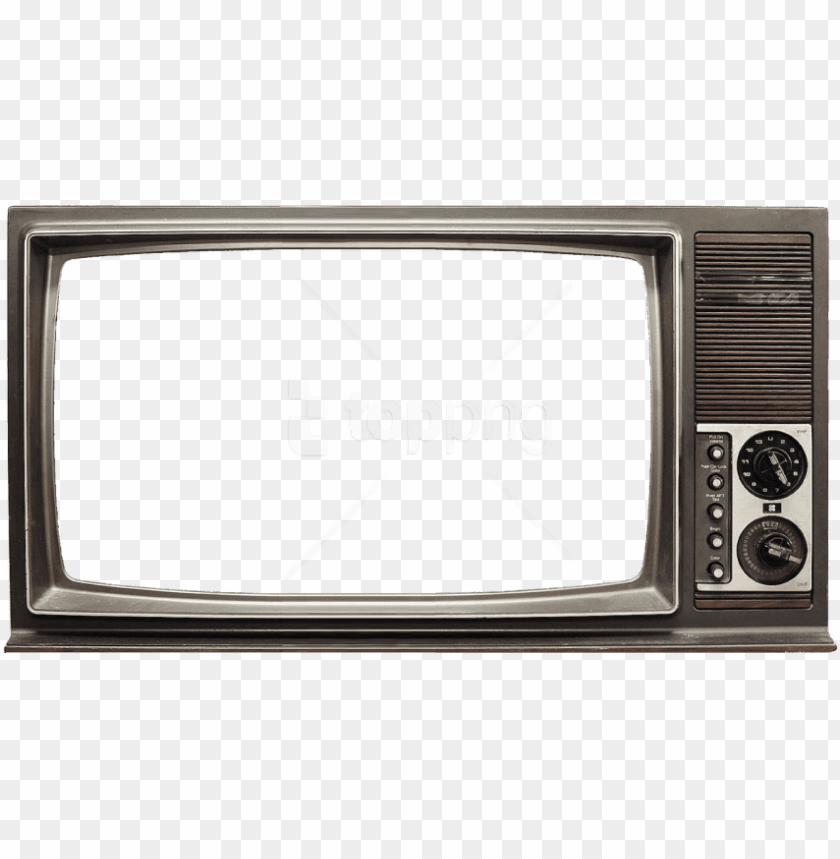 free PNG free png old tv png images transparent - transparent old tv PNG image with transparent background PNG images transparent