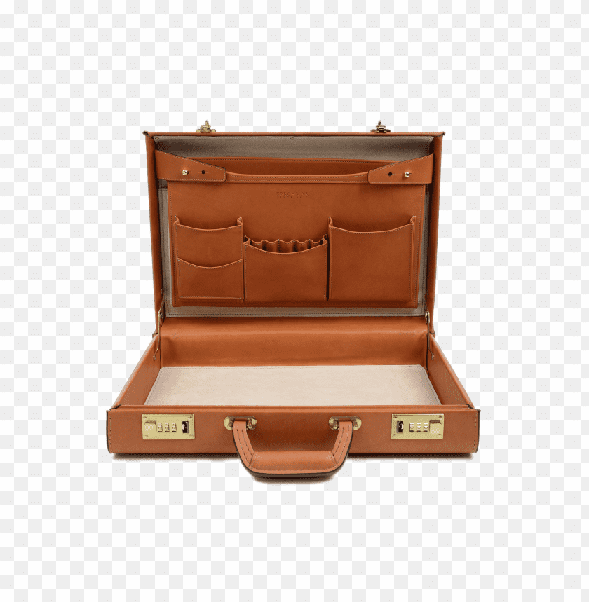 free PNG Download Open Leather Briefcase png images background PNG images transparent